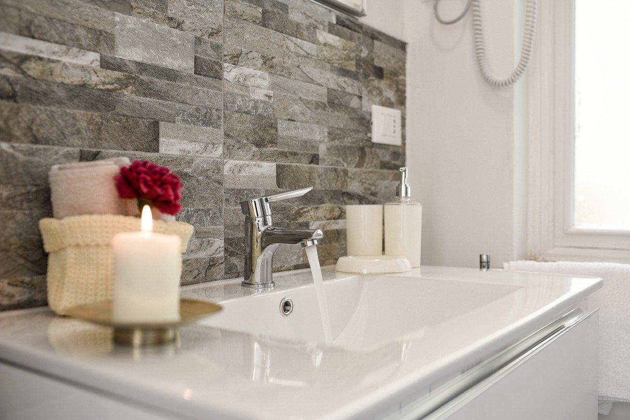faucet, bathroom, water